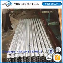 China manufacturer and supplier for white corrugated roofing sheet