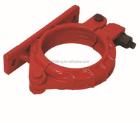 Painting or Galvanizing bracket bolt clamp for concrete pump pipe connecting