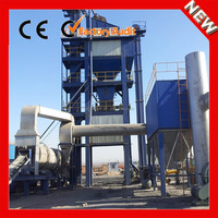 64 t/h Portable Mobile Asphalt Batching Plant and Mobile Asphalt Mixing Plant