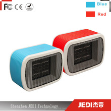 Winter gift 220V portable mini ptc ceramic fan heater with warm air_MO3903