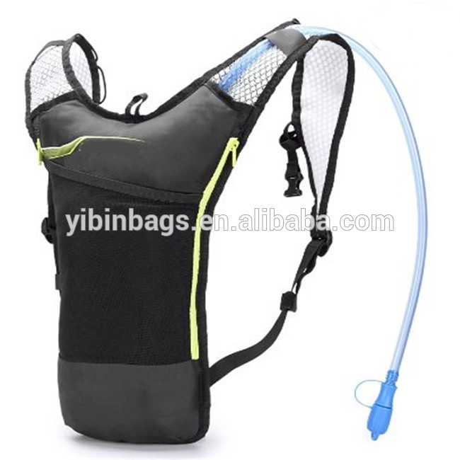 Custom durable light weight waterproof hiking hydration backpack