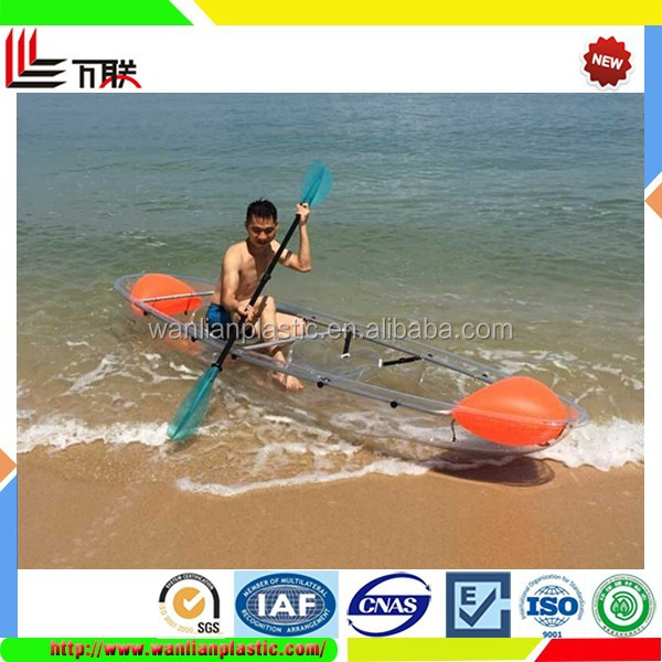 Wholesale Plastic Boat 2 Seats Kayak Fishing Boat For Sale