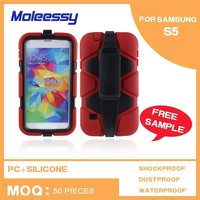 Superior quality 3d 2 in 3 sublimation phone case for samsung s5