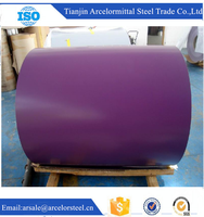 Trade Assurance 0.47mm Thickness Color Coated Gi Gl Coil Prepainted PPGI PPGL Steel Coil for Roofing Sheet Shopping
