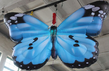 gaint stage decoration inflatable butterfly for party