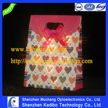 Hot sale Fiber optic lighting papaer packing bag