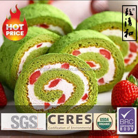 Easy to use and High quality powder uji matcha cake for foods , small lot available