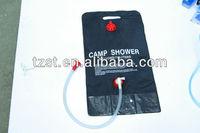 10L outdoor PVC solar shower/camp shower
