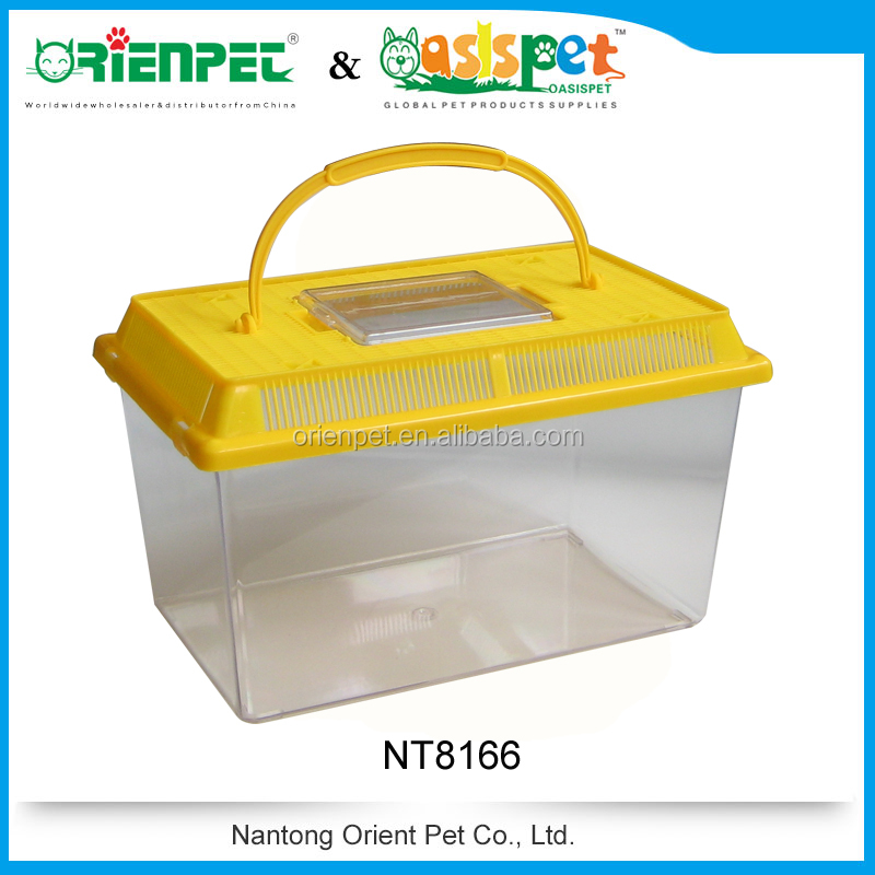ORIENPET & OASISPET Mini pet box Plastic mini Fish Tank Ready stocks NT8166 Pet products