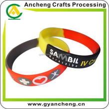 Personalised custom logo silicone bracelet usb flash drive for advertising gifts