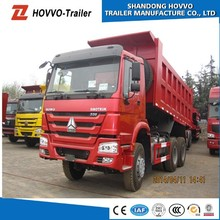 New Dumper Truck Price Sinotruck Competitive Price HOWO Dump Truck Trailer Dumpers Food Van For Sale
