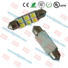 Long time life c3w c5w c10w t10 w5w festoon led light different color31mm 36mm 39mm 42mm auto led lamp