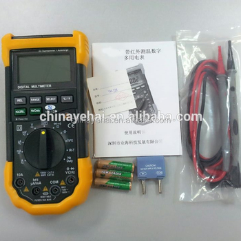 YH1028 digital multimeter analog with infrared thermometer function