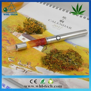 2017 New cartridge 510 glass cbd atomizer /cbd disposable e cig empty hemp oil vapor pen glass
