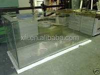 New Cast Acrylic Sheet Made Square Fish Aquarium/Fish Tank For Jellyfish/Fish Tank For Gold Fish