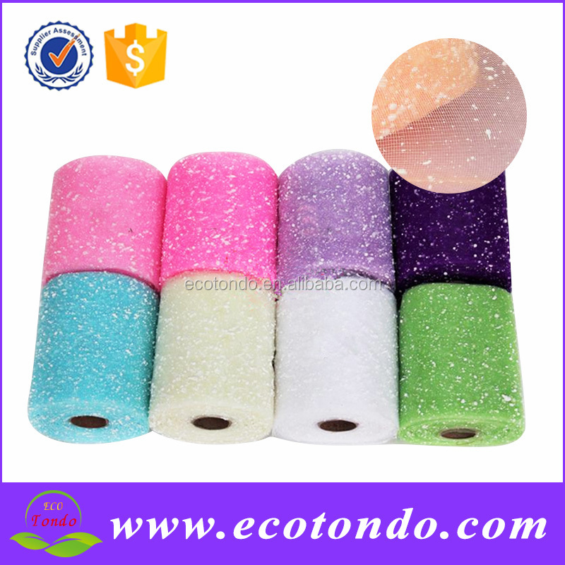 Sepcial Offer 6inchx15yards Wrapping Deco Mesh Plastic Mesh Roll For Christmas Wreath