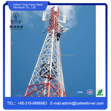 Self Supporting Four Legged Angle Steel Communication Tower