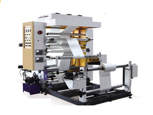 YT-21000 stack type 2 colors bag flexo printing machine