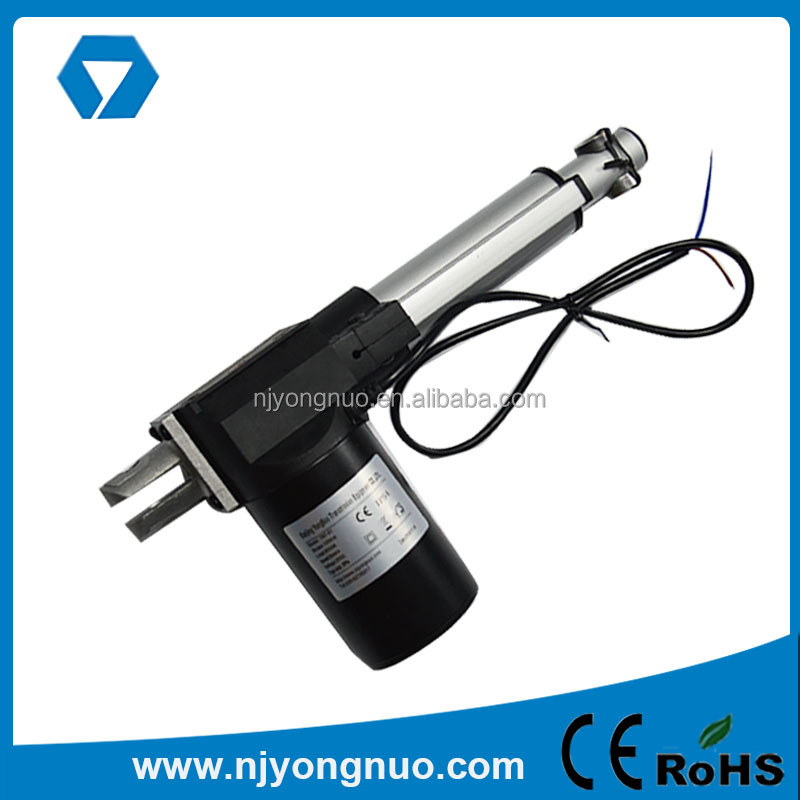 Hot sale 60w 12v brushed dc motor linear actuator for furniture