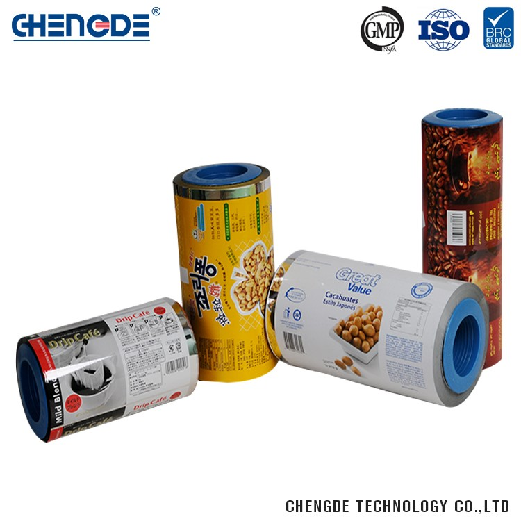 Plastic Durable China Manufacturer Plastic Cling Roll Stock Film For Snack Food Packaging