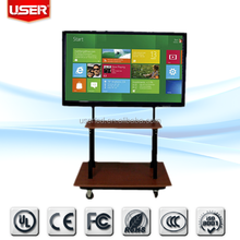 China for classroom teaching 70 inch lcd monitor with tv touchscreen interactive whiteboard with ir touch screen with b