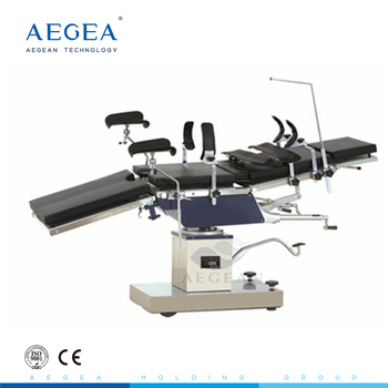 AG-OT025 durable hospital medical manual hydraulic operating table manufacturer