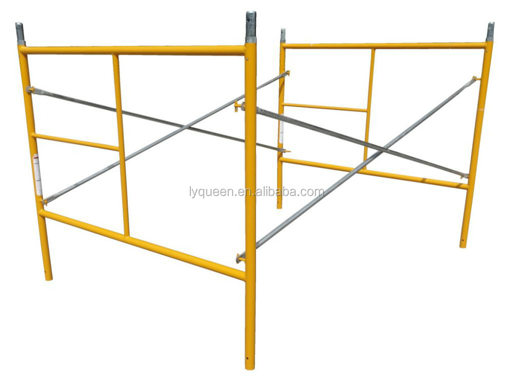 Scaffold Tower / Free Standing DIY Steel Scaffolding Set /Walk-Through Frame