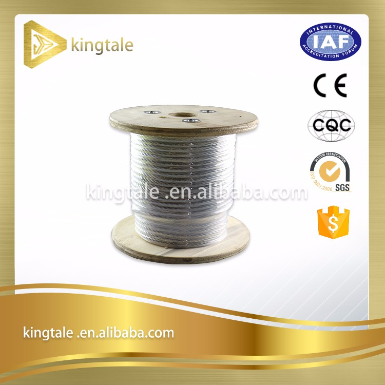 barrier cable/structure cable/bridge cable Galvanized pc strand
