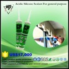 Fast curing good quality acid silicone sealant windows glass silicon sealant