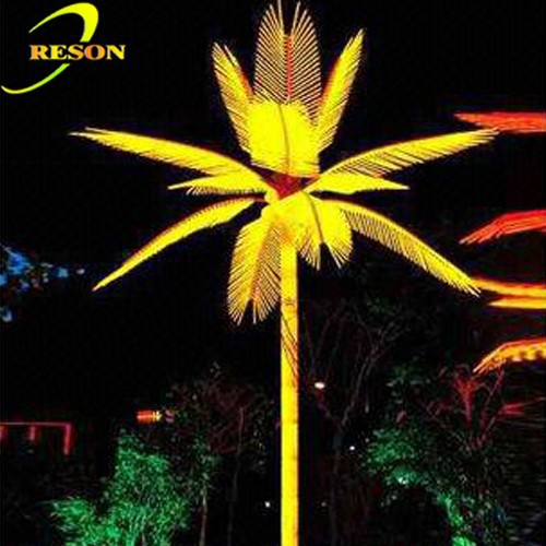 Outdoor lights LED coconut palm tree for sale
