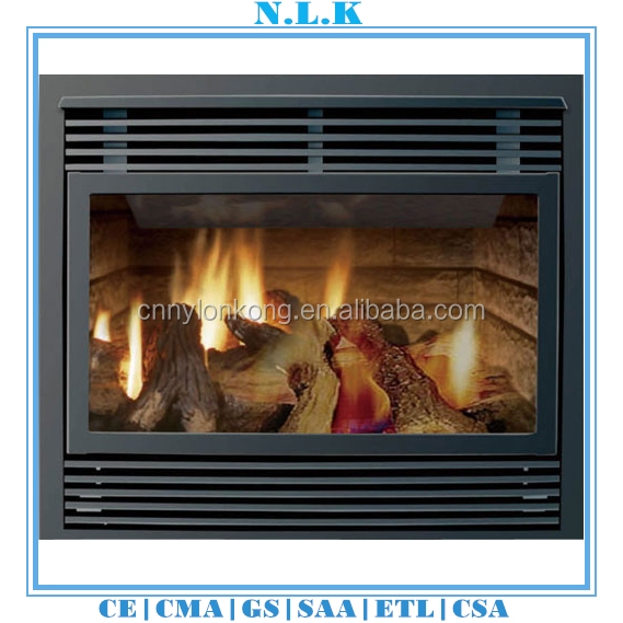 Eco-friendly Good quality insert gas fireplace CE certificate indoor used fireplaces cheap gas fireplaces