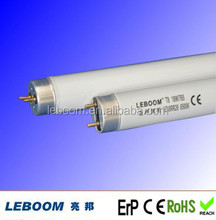 Triphosphor and halogen T8 fluorescent tube