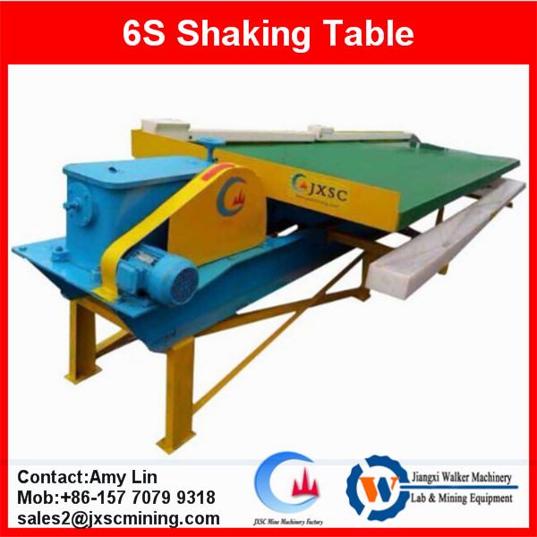 6s shaking table for gold recovery plant