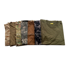 OEM Men's camouflage T-Shirts wholesale Anti-Pilling military t shirt