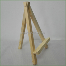 Decorative Wood Art Display Small Wooden Easel