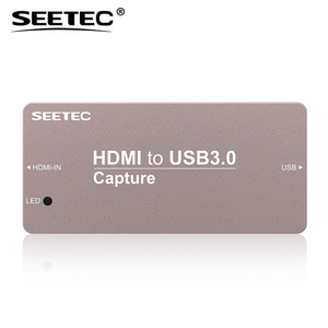 Multiple hdmi formats support mini HDMI to usb 3 capture card for live streaming and movie making