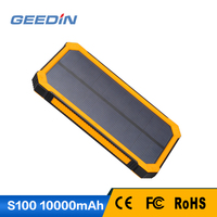 mobile phone battery factory 10000mah solar charger in russian