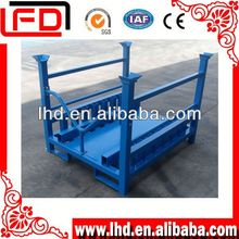 Stackable and Collapsible Film Shipping Racks in China
