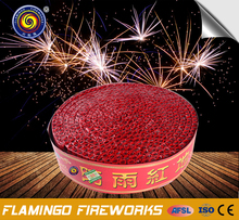 High efficiency Red Crackers triangle shape firecracker