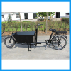China Two Wheels Cargo Bike Dutch Cargo Bicycle Trailer
