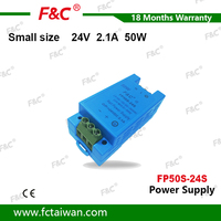 Micro switch power supply 24V 2.1A 50W Transformer 110V 220V AC to DC 24V output