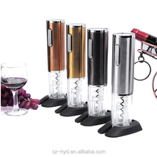 New Products For Christmas!!Factory Price Rechargeable Electric Plastic Corkscrew Automatic Wine Bottle Opener