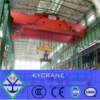 Best selling metallurgy workshop 200 ton overhead foundry casting crane