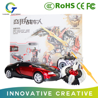 Hot sales Remote Control Car Robot transformation Robots Toys New Year gifts for children