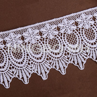 Polyester embroidery Chemical lace Trim for dress