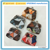 fashion PU leather full printing coin purse lady zero wallet