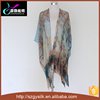 factory direct customized digital printing fashion women maxi silk kaftan