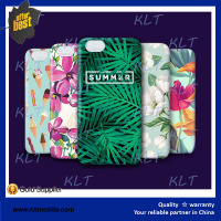 KLT-summer customized Floral print smart Phone Case ODM mobile phone cover