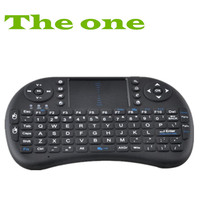 Mini qwerty design I8 fly keyboard 2.4g wireless mini Air mouse