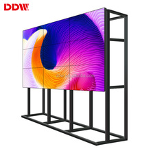 "3x3 47"" 4.9mm Thin Bezel LCD Video Wall with floor standing bracket"